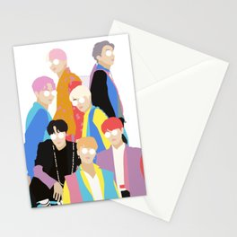 BTS IDOL Hanbok Illustration Stationery Cards
