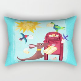Special Delivery Rectangular Pillow