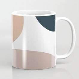 Abstract Shapes boho Minimal Coffee Mug