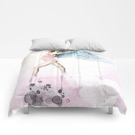 Pilates Girl Comforters