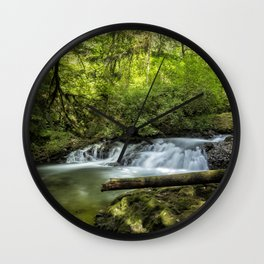 North Fork Silver Creek, No. 2 Wall Clock
