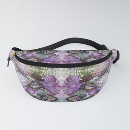 Psychedelic Positive Notes Lavender Zoom Fanny Pack