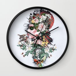 Queen of Nature Wall Clock