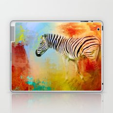 Colorful Expressions Zebra Laptop & iPad Skin
