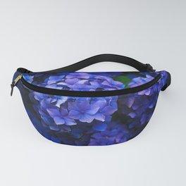 Purple Hydrangeas Fanny Pack