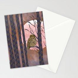 NIGHTLY OWLISH WISDOM Stationery Cards