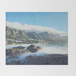 Hello Cape Town Throw Blanket