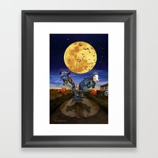 Halloween II Framed Art Print
