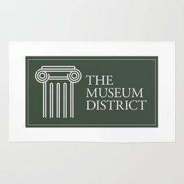 Museum District logo Rug