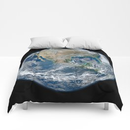 North America from Space Comforters