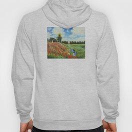 Claude Monet - Poppy Field at Argenteuil Hoody