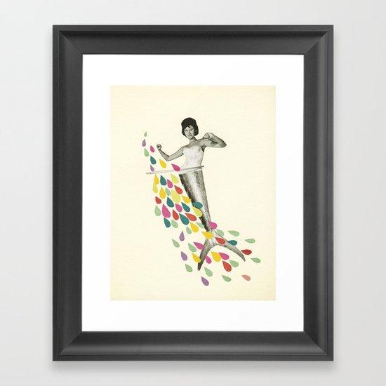 Follow Me : Pisces Framed Art Print