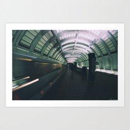 Morning Commute Art Print