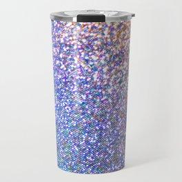 Purple Ombre Glitter Travel Mug