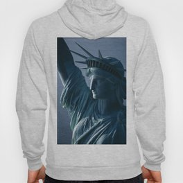 Statue of Liberty Closeup Photograph Hoody