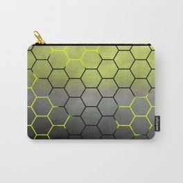 YELLOW HONEY COMB 02 Carry-All Pouch