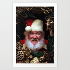 Wreaths of Smiles Art Print