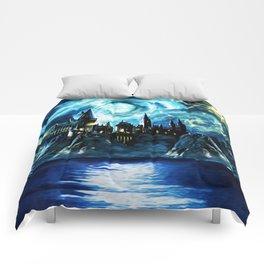 Starry Night Hogwarts Comforters