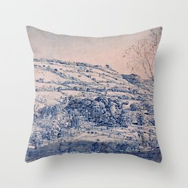 Shoreham, Kent - Digital Remastered Edition Throw Pillow