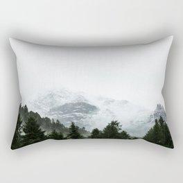 The Way Through The Woods Rectangular Pillow