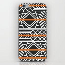 Tribal ethnic geometric pattern 022 iPhone Skin