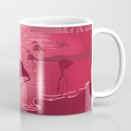 Paradise Island - Minimal Art Coffee Mug