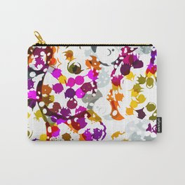 Negative Paisley Carry-All Pouch