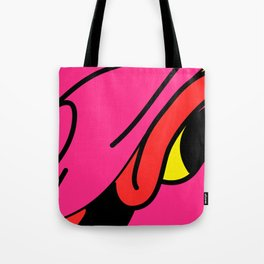 Colorful dragon, among the restless and amused. Tote Bag