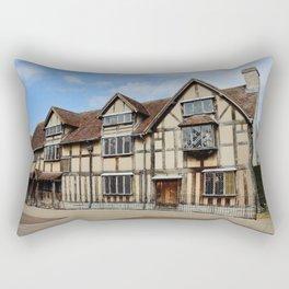 William Shakespeare's Birthplace Rectangular Pillow