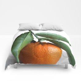 Orange Fruit Photography Comforters