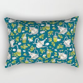 Moroccan Mint Tea Rectangular Pillow