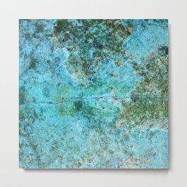 Moment of Epiphany: Aqua-Blue Version Metal Print