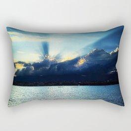 Sunset Lake Geneva Switzerland Rectangular Pillow