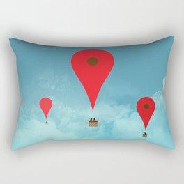 Google balloon Rectangular Pillow