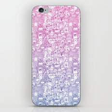Curly & The Monster Factory iPhone & iPod Skin