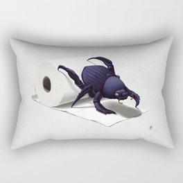 Shit Happens! (Wordless) Rectangular Pillow