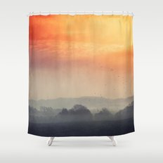 I burn for you Shower Curtain