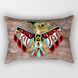 Thunderbird-knot Rectangular Pillow