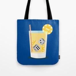 Cocktail Dice Tote Bag