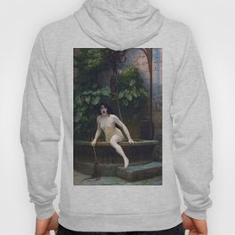 TRUTH COMING OUT OF HER WELL TO SHAME MANKIND - JEAN-LEON GEROME Hoody