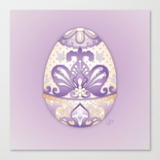 Lavender Egg Canvas Print