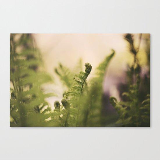 The Greening Canvas Print