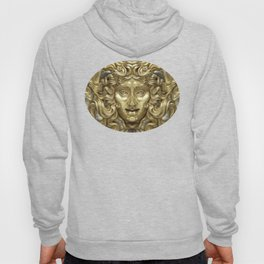 """""""Ancient Golden and Silver Medusa Myth"""" Hoody"""