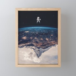 New Horizon Framed Mini Art Print
