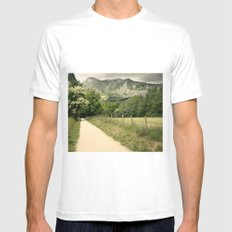 Anboto MEDIUM Mens Fitted Tee White