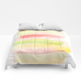171122 Self Expression 7  Abstract Watercolors Comforters