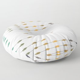 Fishettes Floor Pillow