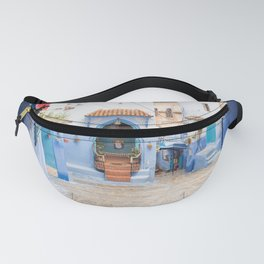Chefchaouen III - The Blue City, Morocco Fanny Pack