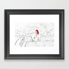 Welcome to Icenod Framed Art Print