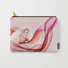 Pink and red smoke composition Carry-All Pouch